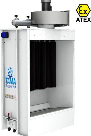 Аспирация камеры порошковой покраски TAMA MANUCOMPACT